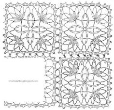 Crochet Art: Tablecloth - Crochet Lace Tablecloth free pattern