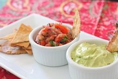 Pico De Gallo and Avocado Crema Salsa - Against All Grain