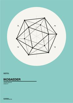 clean geometric #poster design - Albert Exergian