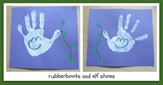 rubberboots and elf shoes: give peace a chance Classroom Art Projects, Class Projects, Art Classroom, Handprint Painting, Elf Shoes, Give Peace A Chance, School Auction, Remembrance Day, Blue Backgrounds