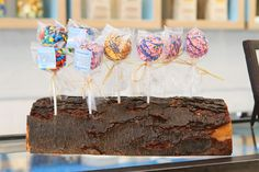 Treat House, NYC -- A fun bakery featuring gourmet Mini Rice Krispy Treats!
