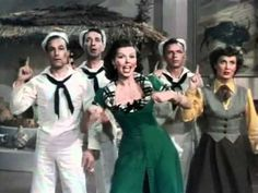 Prehistoric Man. I never knew this song existed, but it is hilarious! (wait for the dance break). Not to mention fabulous tapping. So glad to discover Ann Miller!