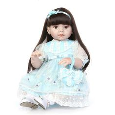 6c340c62a2d Large size silicone reborn baby dolls real girl reborn babies for Clothing  Model children gift bebe Brinquedos