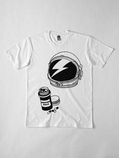 343013bc9ce  David Bowie - L Oddité de l espace  T-shirt premium homme by Joanna Pearson
