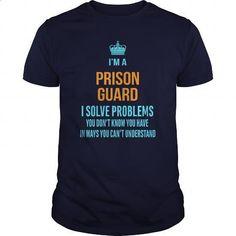 Prison Guard #Tshirt #T-Shirts. MORE INFO => https://www.sunfrog.com/LifeStyle/Prison-Guard-96614657-Navy-Blue-Guys.html?60505