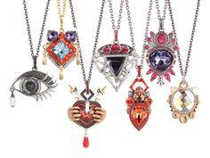 Stephen Webster Seven Deadly Sins pendants