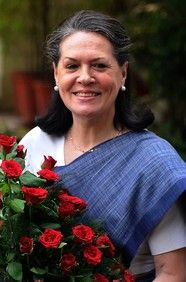 Sonia Gandhi, President of India & Forbes 100 Most Powerful Women