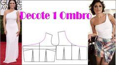 Modelagem Decote Canoa, Princesa, Redondo, U, 1 Ombro, etc