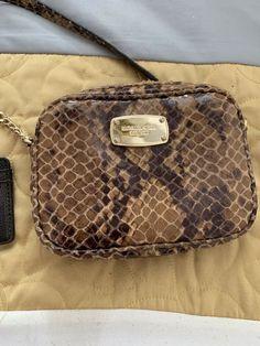 1a602b09adae Michael Kors Violet Cindy Dome Brown Pale Gold Crossbody Bag 35t7gv1c2b