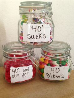 #40 Is still HOT, Blows and Sucks.. (Blow Pops, Red Hots and bubble gum)