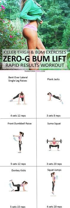 This Intense Leg and Booty Workout Will Give You Crazy Lift. This workout is a killer for burning that stubborn cellulite.