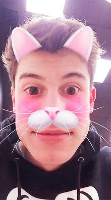 Image result for shawn mendes snapchat filter