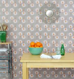 Removable wallpaper. DIY patterns.  Spoonflower    hodge:podge: Check this out!