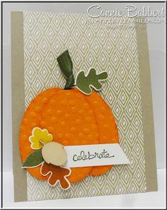 Fall Fest Pumpkin - by Connie  Babbert