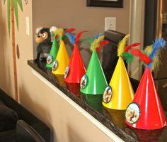 Rio birthday party theme