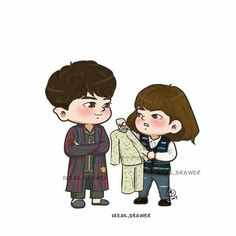 #StrongWomanDoBongSoon #ParkBoYoung #ParkHyungSik #KoreanDrama #chibi #jtbc #dorama @freak_drawer