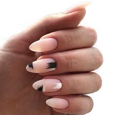 How is gel nail polish applied, what is Gel Mani? This nail polish looks and looks like normal nail polish. When making gel nails, a craf Matte Nails, My Nails, Acrylic Nails, Gel Nail Polish, Nail Polish Colors, Gel Manicure, Manicures, Types Of Nails Shapes, Diy Nagellack