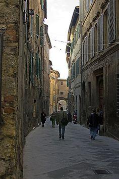 Streets / Siena, Italy.