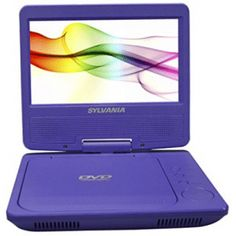 Sylvania Portable DVD Player with Car Bag/Kit, Swivel. Mini Tv, Cheap Online Shopping, Card Reader, Tv Videos, Sd Card, Cool Things To Buy, Dvd Players, Usb, Technology