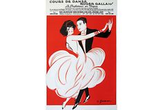 Dance School Poster on OneKingsLane.com