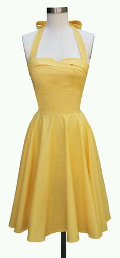 1950's haltered sundress