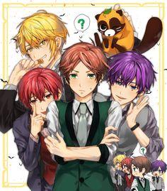 浦島坂田船 First Animation, Animation Film, Hot Anime Boy, Cute Anime Guys, Vocaloid, Anime Chibi, Anime Art, Fanart, Ensemble Stars