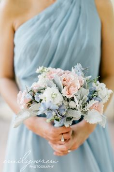 bridesmaid's bouquet, Bellevue Wedding with Emily Wren Photography ~ Sarah + Eric, Robertson's Flowers & Events, Bouquets, centerpieces and chuppahs