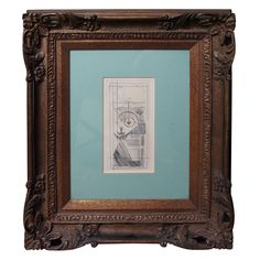 """Marcel Duchamp Etching """"Coffee Grinder"""" 