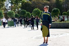 The Wonderful World of Curly Girl: Street Style at Paris Fashion Week Spring Summer 2015: Part 3