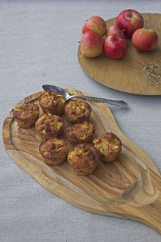 Æblemuffins // apple muffins