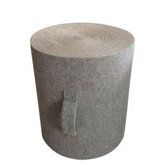 NEW Designer, MAKI Cardboard and Felt Stool, Polish Young Designer Magda Pinczynska, Looks great in any living room and child bedroom.
