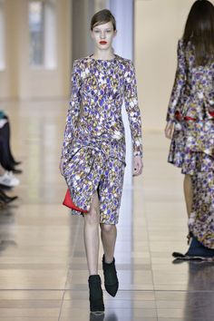 Antonio Berardi. Brocade florals were THE look in London. See all the prints on its fall 2015 runways.