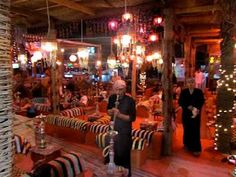 Bedouin-Style Lounge at Naama Bay - Sharm el Shiekh, Egypt. See more: www.UnhookNow.blogspot.com