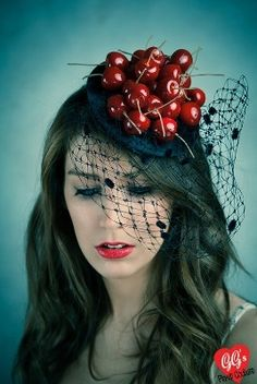 Fascinator Inspiration: Amarena Fabbri