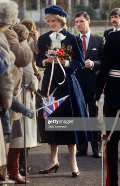 Diana Princess of Wales on a visit to the Wantage Adult Training Centre on December 1983 in Wantage, Oxfordshire Get premium, high resolution news photos at Getty Images Princess Diana Rare, Princess Diana Fashion, Princes Diana, Royal Princess, Prince And Princess, Princess Of Wales, Karen Spencer, Spencer Family, Lady Diana Spencer