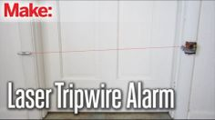 Make a DIY Laser Tripwire Alarm For Just a Few Bucks