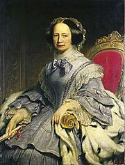 Grand Duchess Maria Pavlovna of Russia, by marriage became Grand Duchess of Saxe-Weimar-Eisenach.