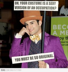 Condescending Wonka Costume WIN.
