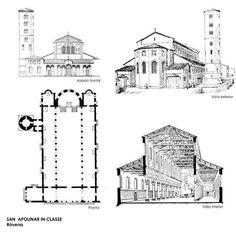 San Apolinar in Classe es una basílica italiana situada en Classe, puerto histórico de Rávena. Se construyó durante la primera mitad del siglo VI.