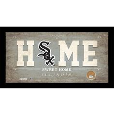 Chicago White Sox 10x20 Home Sweet Home Sign with Game-Used Dirt from U.S. Cellular Field - $59.99