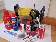 Restoring a vintage sewing machine