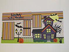 Creative Cricut Designs & More....: Happy Halloween Scrapbook Layout