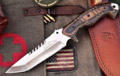 CFK USA Ipak Custom Handmade D2 Tactical Battle Raptor Hornet Tanto Combat Knife | eBay