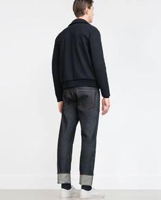 PANTALÓN DENIM SELVEDGE - Slim Fit - Jeans - HOMBRE | ZARA España