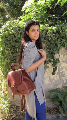 Burnt Sienna Bobbie, Chiaroscuro, India, Pure Leather, Handbag, Bag, Workshop Made, Leather, Bags, Handmade, Artisanal, Leather Work, Leather Workshop, Fashion, Women's Fashion, Women's Accessories, Accessories, Handcrafted, Made In India, Chiaroscuro Bags - 2