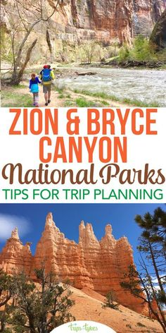 Visiting Zion or Bryce Canyon National Parks in Southern Utah? This complete planning guide will help you prepare for the perfect road trip to two of best national parks in the USA. National Park Passport, National Parks Map, Capitol Reef National Park, Zion National Park, Travel Usa, Travel Tips, Travel Destinations, Perfect Road Trip, Utah Hikes