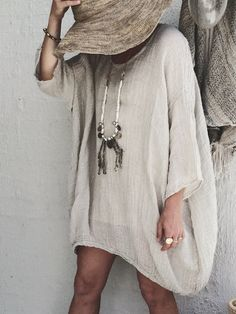 Round Neck Casual Solid Linen Blouses - Fashion - Womens - Women's Clothing - Shirts & Blouses - #fashion #clothing #blouse Cute Blouses, Blouses For Women, Stitching Dresses, Latest Fashion Design, Jumpsuits For Girls, Maxi Dress With Slit, Linen Blouse, Blouse Styles, Printed Skirts