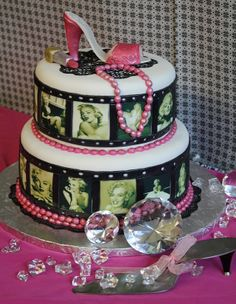 Image Detail for - Marilyn Monroe cake by allris on Cake Central My Birthday Cake, 21st Birthday, Birthday Stuff, Birthday Ideas, Marilyn Monroe Birthday, Monroe Sweet, Best Bakery, Gateaux Cake, Cake Central