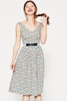 EDC Millefleurs-Kleid im 50s Style