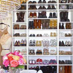 shoe organizing, shoe storage ideas, organizing your closet, closet organization